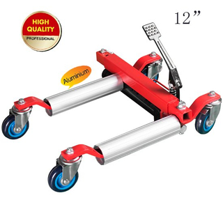 Vehicle Positioning Jack with aluminium roller