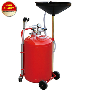 Collecting oil machine without glass tank