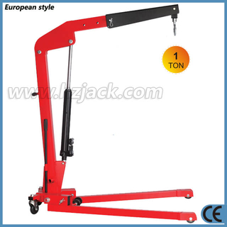 1 Ton Hydraulic Foldable Mobile Engine Crane