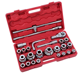 "3/4"" 26Pcs Heavy Duty Socket Wrench Sets (19mm series)"