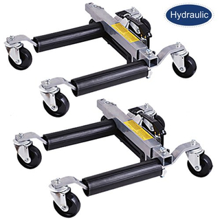 one pair vehicle positioning jacks