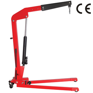 Hydraulic folding shop crane-European stype