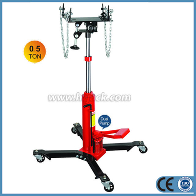 2 Stage High Lift Hydraulic Transmission Jack with Foot Pedal