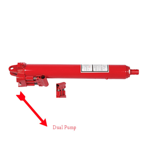 8Ton Dual pump Long Ram Jack