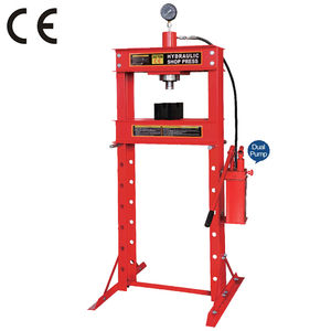 Dual pump 30 ton shop press