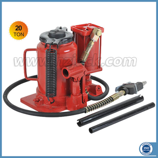 Low Profile 20 Ton Air Operated Hydraulic Bottle Jack