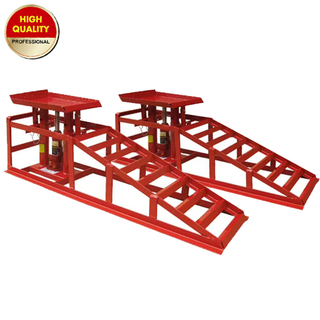 Car Ramp with hydraulic bottle jack