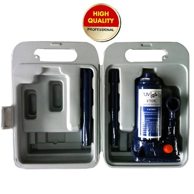 bottle jack with safety valve in blow case