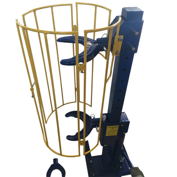 Hydraulic Strut Coil Spring Compressor with Guard