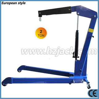 Heavy Duty 2 Ton Foldable Mobile Engine Crane