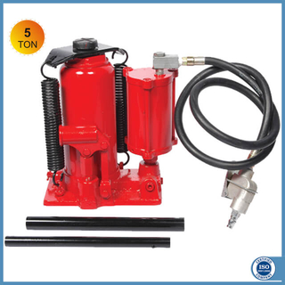 5 Ton Air over Hydraulic Bottle Jack