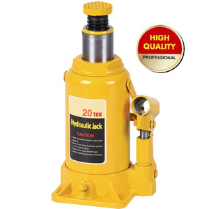 Yellow hydraulic bottle jack 20ton