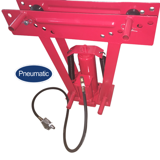 Pneumatic/hydraulic 16 ton pipe bender