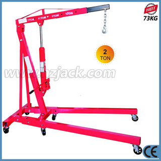 2 Ton Hydraulic Foldable Shop Crane