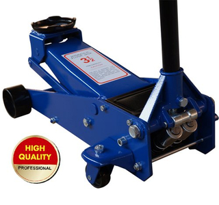 3.5 ton hydraulic floor jack with dual pump