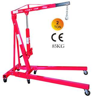 Foldable 2ton Shop Crane 85kg
