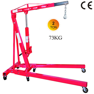 Folding 2 ton Shop Crane 73 kg